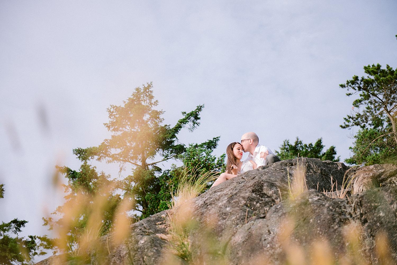 B.C. canada wedding photographer,British Columbia wedding photographer,Lighthouse Park,West Vancouver engagement,enaged couple,engagement posing,forest,forest engagement,lighthouse park engagement,ocean,ocean engagement,okanagan wedding photographer,outdoors engagement,trees,vancouver wedding photographer,vernon wedding photographer,